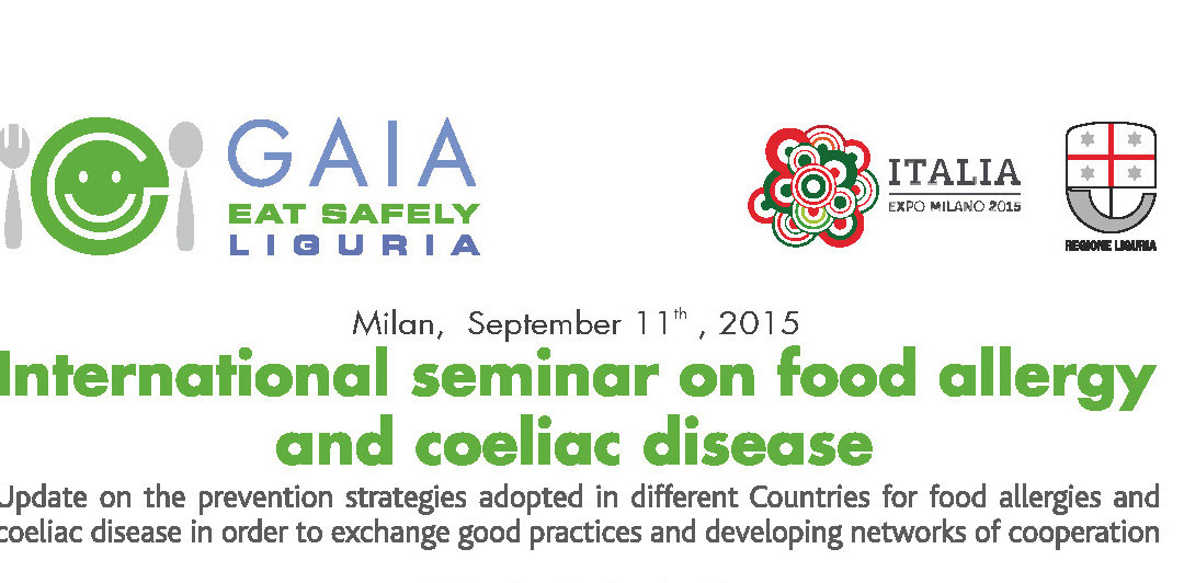 International seminar on food allergy and coeliac disease