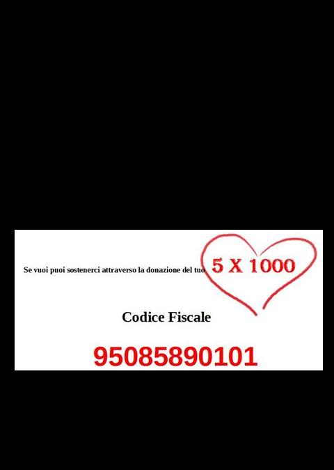Sostienici con il tuo 5×1000