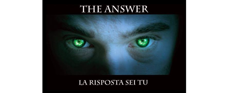 "Cerimonia di donazione del film ""The Answer"""